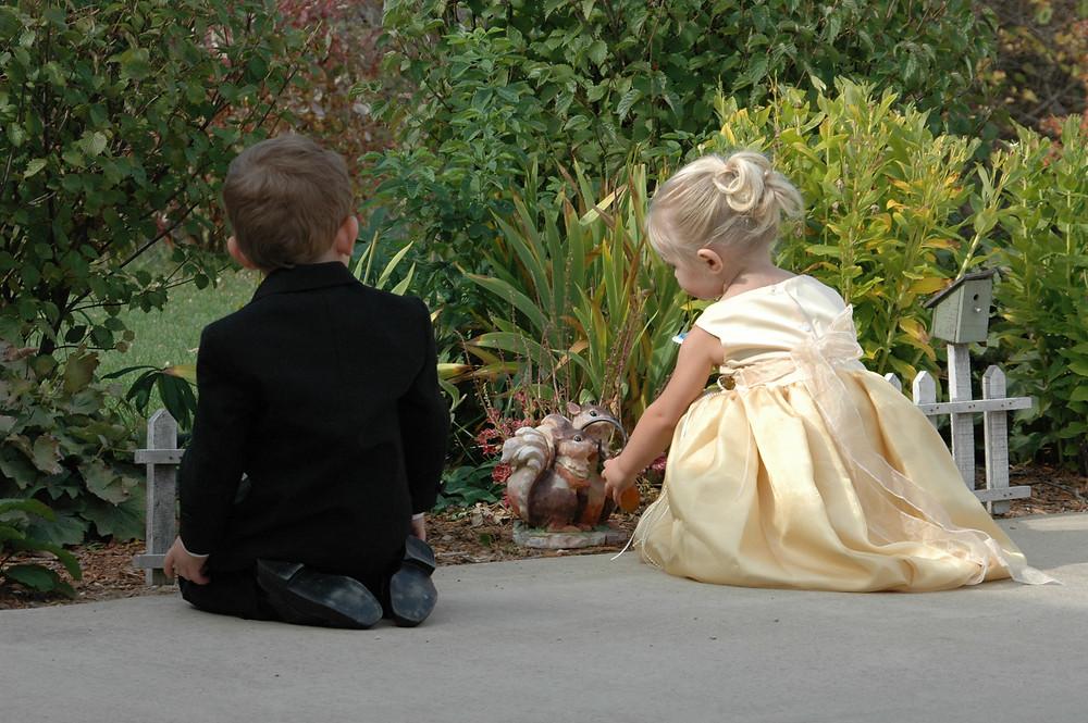 childrens curiosity