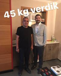 45 kg gitti Ercan abi Ameliyat sonrası t