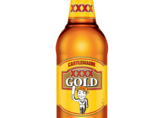 XXXX Gold Bottle - 375mL