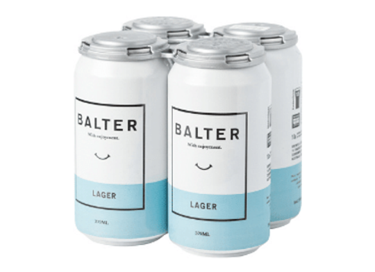Balter Lager Can - 375mL
