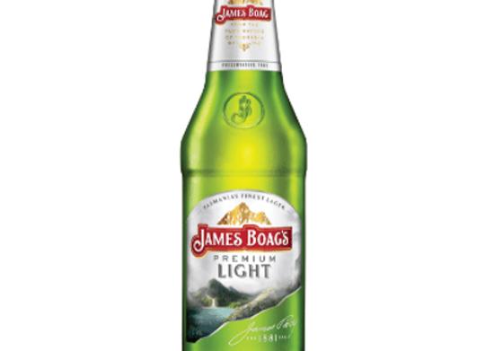 James Boags Premium Light Bottle - 375mL