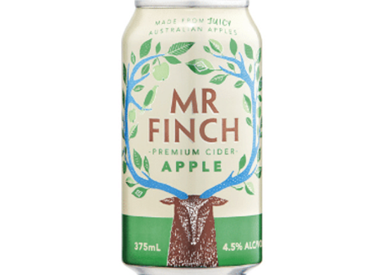 Mr Finch Apple Cider Can - 375mL
