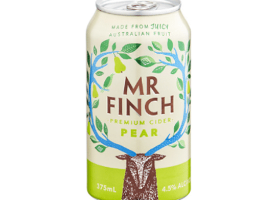 Mr Finch Pear Cider Can - 375mL