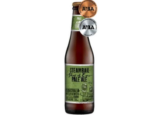 Steamrail Pale Ale Bottle - 330mLSteamrail Pale Ale Bottle - 330mL