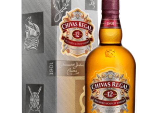 Chivas Regal 12YO Scotch Whisky - 700mL