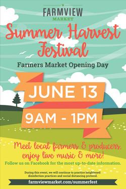 Summer Harvest Festival Poster