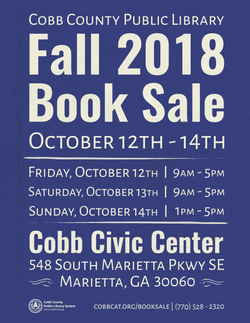 Fall 2018 Book Sale Poster