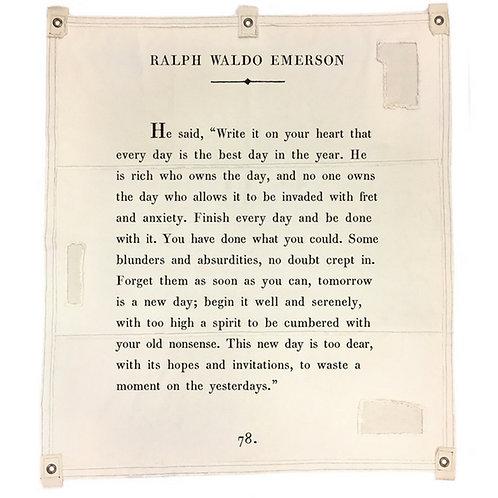 Tarp - Ralph Waldo Emerson