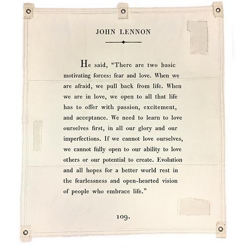 Tarp - John Lennon