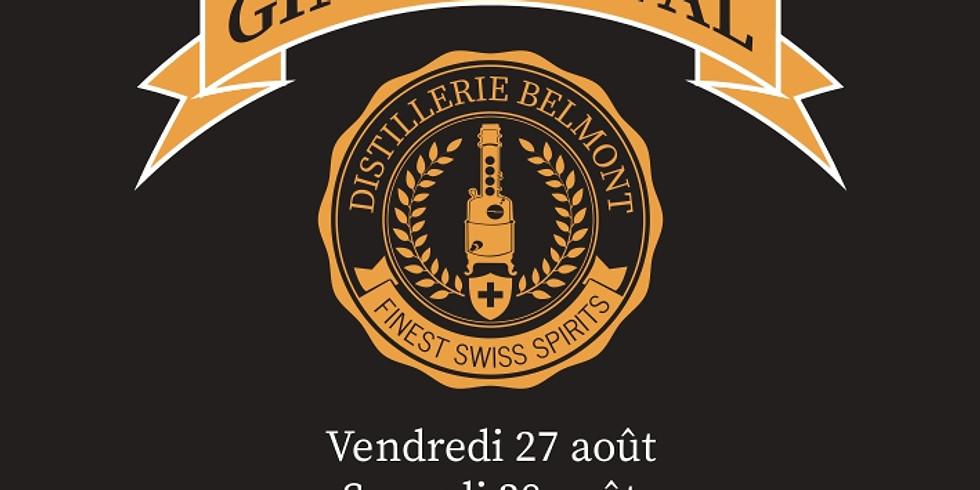GIN FESTIVAL - PREMIÈRE EDITION - DISTILLERIE BELMONT