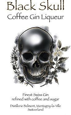 Black Skull - Coffee Gin Liqueur