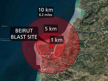 Blast in Beirut Rock Christian Communities