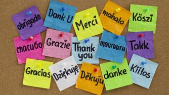 The Language of Thanks