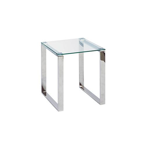 Executive Glass End Table