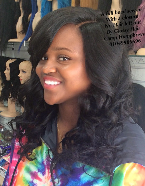 Results For Full Head Sew In With No Hair Left Out