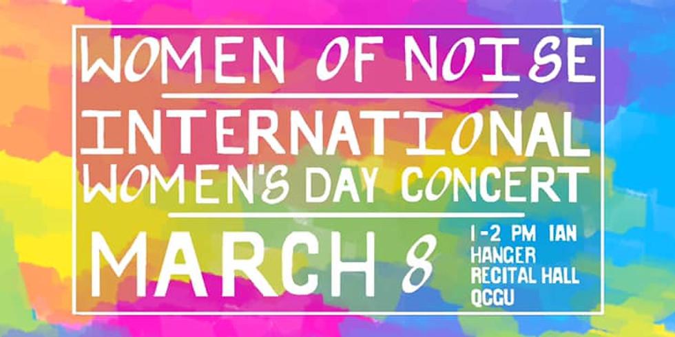 Women of Noise | Featured Composer | International Women's Day Concert