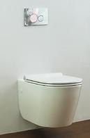 wall mounted toilets, wall hung toilets, toilet bowl