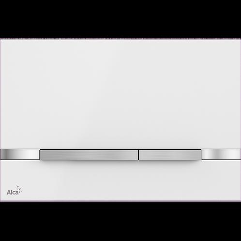 STRIPE White Stainless Steel