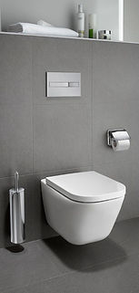 wall mounted toilet, wall hung toilet, in wall toilet