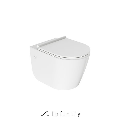 FLOW  wall hung toilet with SOFT CLOSE SEAT
