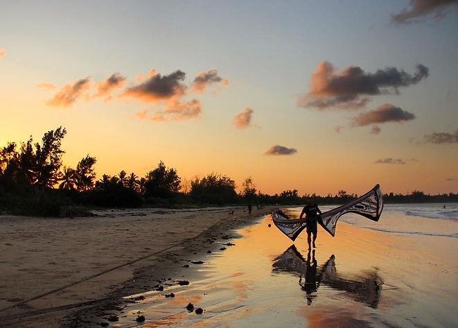 Kitesurfing, Malindi, Kenya