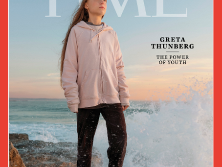 TIME 2019 PERSON OF THE YEARGRETA THUNBERG  TIME