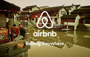 世界での定宿はAirB&Bの時代?