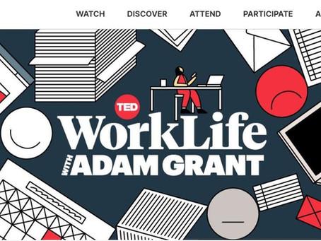 """音声メディアの時代が来た  """"WorkLife with ADAM GRANT""""や VOOXのお勧め"""