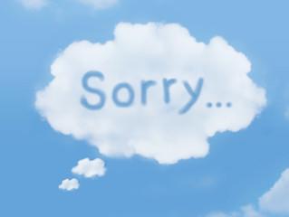 魔法の言葉 Sorry
