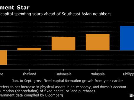 フィリピンでの投資ブームが隣国を圧倒