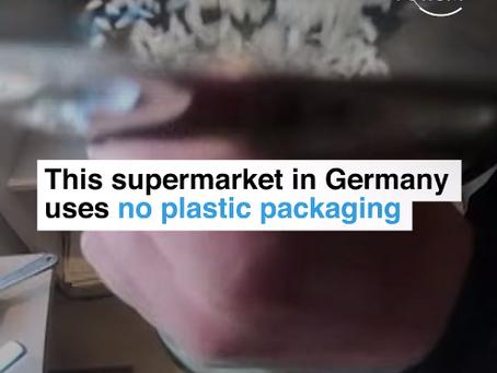 ドイツやイギリスなど世界のスーパーで広がるプラスチック包装の追放