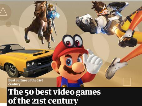 21世紀のベストビデオゲーム The Guardian