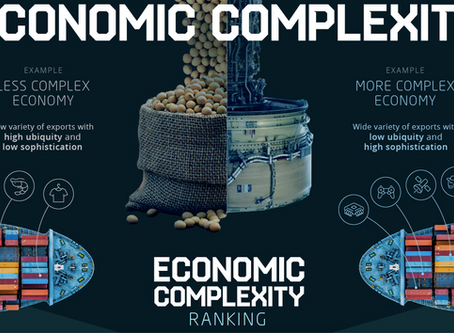 Economic Complexity(経済の複雑さ)でランキングを作ると日本が1997年以降トップを維持  ハーバード成長研究所チーム