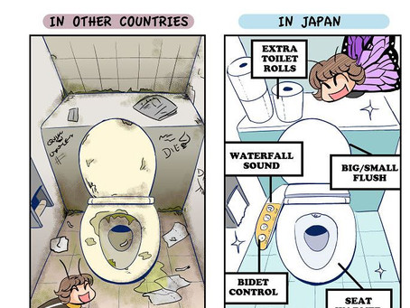 日本で学んだコミックアーティストEvaさんが気が付いた他の国と違う日本の文化をコミックで紹介