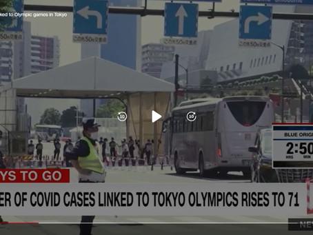 英語の記事を読もう CNN 東京2020のトップ、直前のオリンピック中止を否定せず