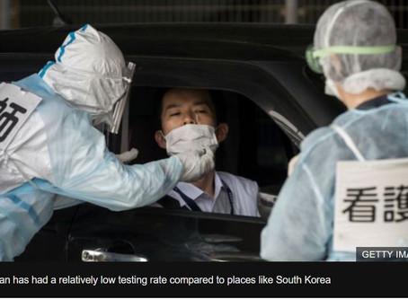 日本のミステリアスなウイルス死亡率