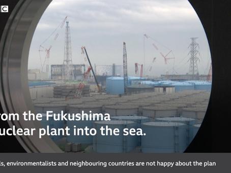 英語の記事を毎週読むのが英語上達に役立つ BBC:日本、汚染水の海洋放出を承認