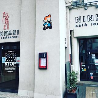 Mario X Tintin