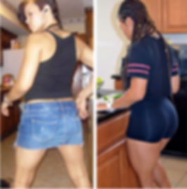 Glutes, Gains, Curves, Natural Booty