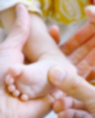 Massag pour bébé