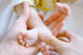 Newborn Baby Foot