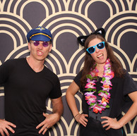 Great Gatsby photo booth backdrop 20's