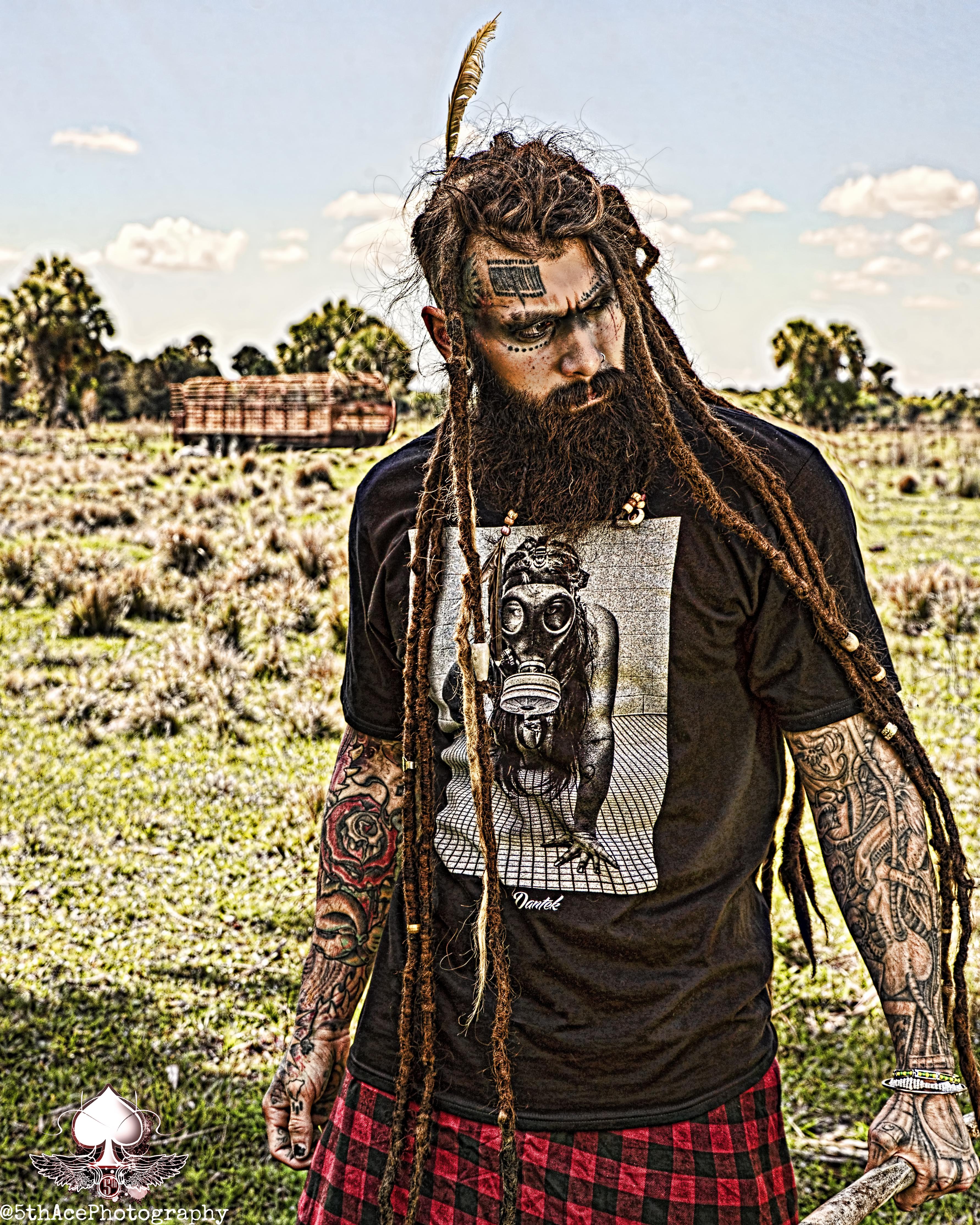 dantek clothing daze tattoo model