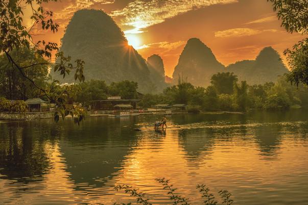 Yulong River Sunset 2