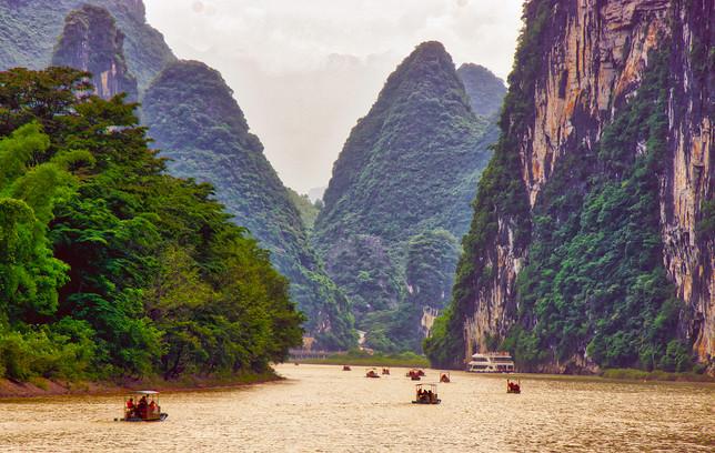 Li River, Yangshuo, China
