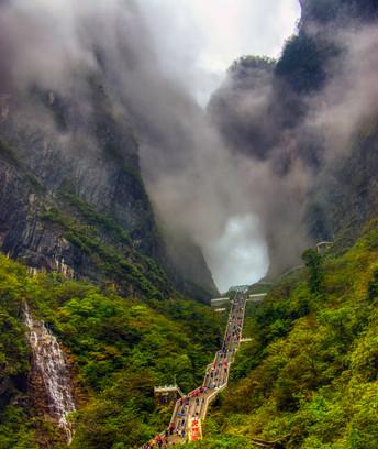 Hole in the Rock, Zhangjiajie, China