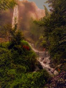 Waterfall in Zhangjiajie
