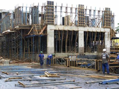 Melhora a confiança dos empresários da indústria da construção