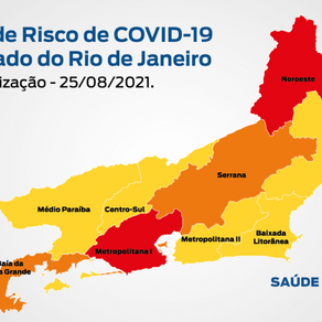 Mapa de Risco Covid-19,um Periódico de Saúde.