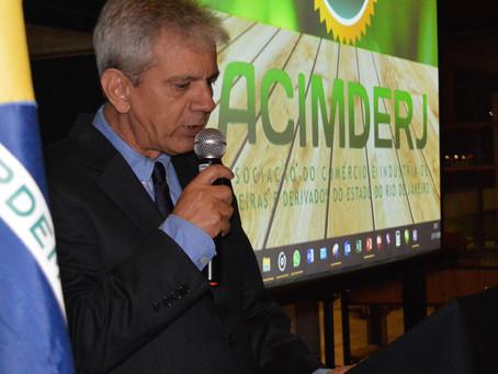 Wadson Werly é reeleito Presidente da ACIMDERJ.